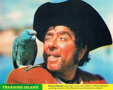 Robert Newton and 'friend'