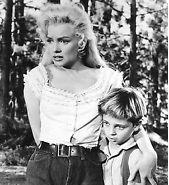 Tommy Rettig and Marylin