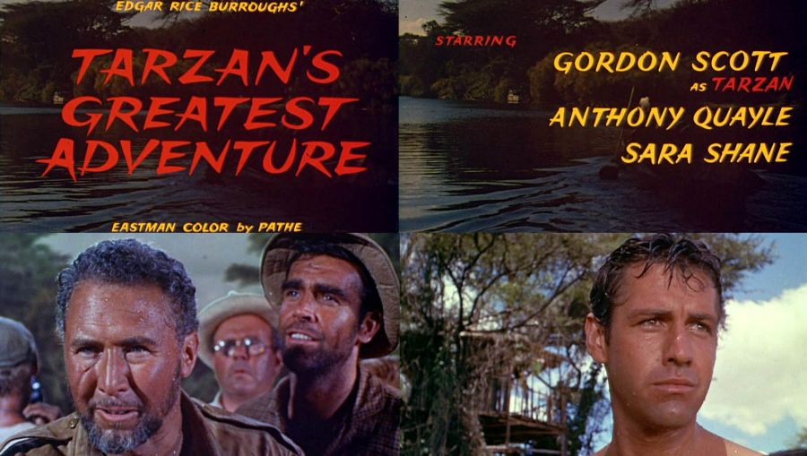 Image result for tarzans greatest adventure 1959 anthony quayle
