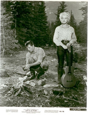 Marilyn and Robert Mitchum