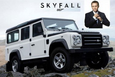 Skyfall - Land Rover