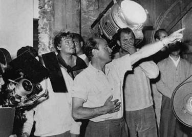 Jack Cardiff directing William Tell