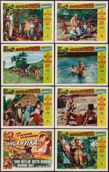 Tanganyika Lobby Cards