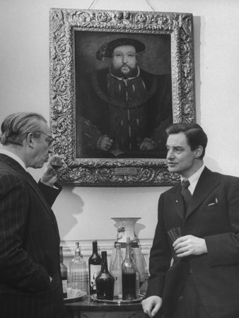 Alexander Korda and Robert Donat