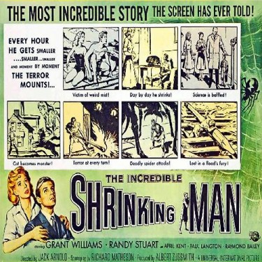 Incredible Shrinking man 8mm film