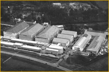 denham film studios from the air