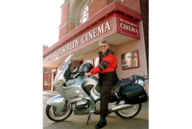 Gerald Parkes at the Majestic Cinema 1998