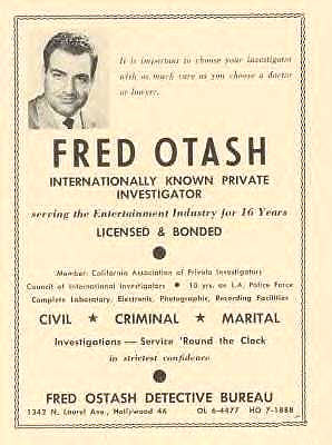 Otash Private Investigator