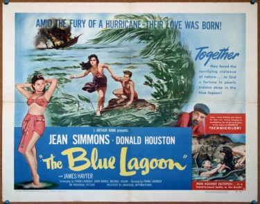 Jean Simmons in The Blue Lagoon 3