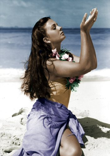 Jean Simmons in The Blue Lagoon