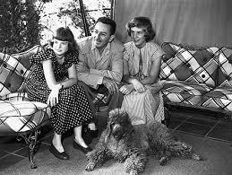Walt Disney and his daughters