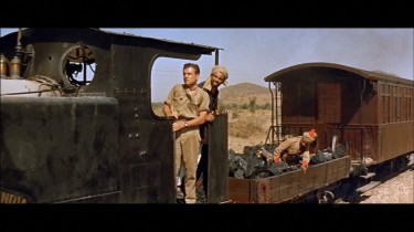 Kenneth More and I.S.Johar - On the Train.