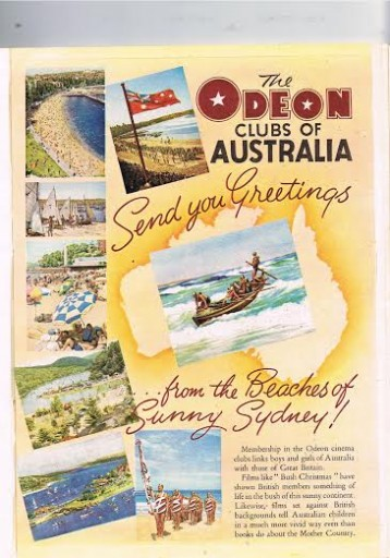 Greetings from Australia 1951
