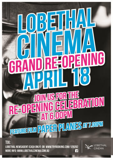 Lobethal Cinema Re-opens