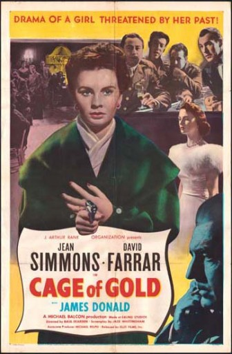 Cage of Gold 1950