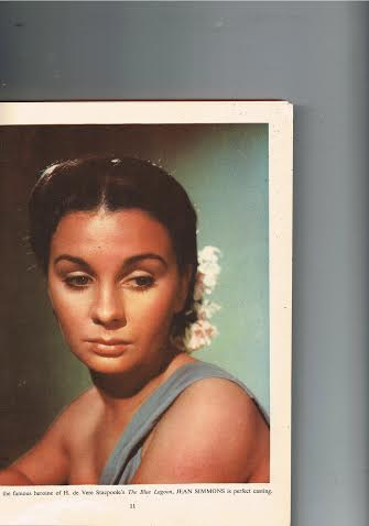Jean Simmons The Blue Lagoon