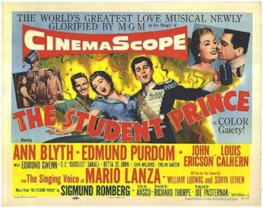 The Student Prince 1954