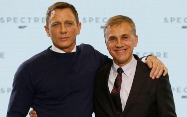 Spectre christoph waltz and daniel craig