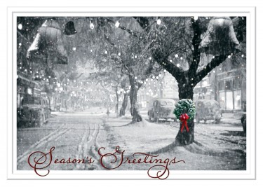 Its a Wonderful Life - Christmas Card