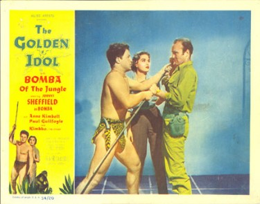 Bomba and The Golden Idol 1954.3