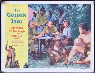 Bomba dn The Gold Idol 1954