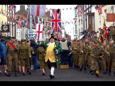 Dads Army 2016 Marching
