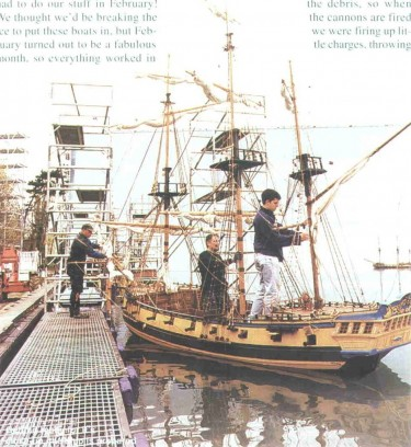 Filming of Hornblower
