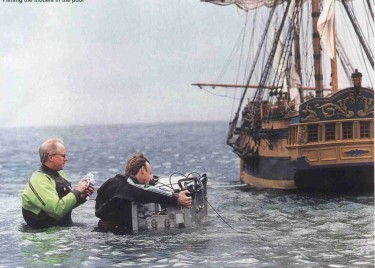 Hornblower filming