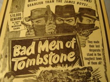 Bad Men of Tombstone 1949