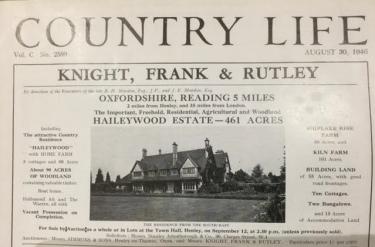 Haileywood House 1946