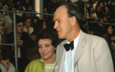 Roal Dahl and Patricia Neal 1969