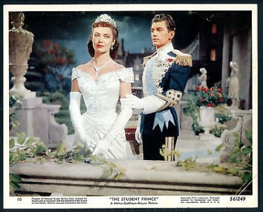 BETTA ST JOHN The Student Prince with Edmund Purdom