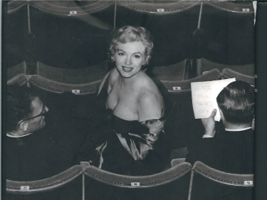 Marilyn at the Theatre in London 1956