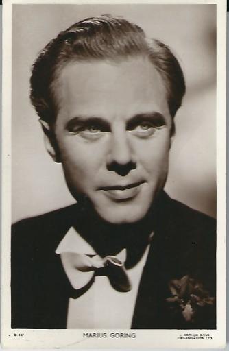 Marius Goring
