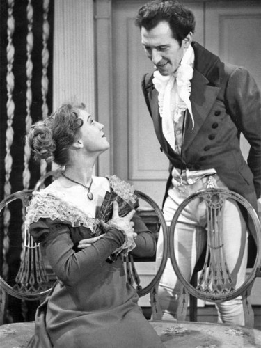 Peter Cushing in Pride and Prejudice 1952