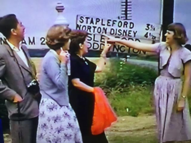 Walt Disney and his Family at Norton Disney Lincolnshire
