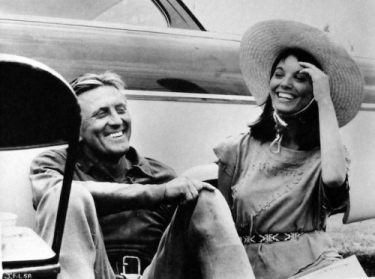 Kirk Douglas and Elsa Martinelli