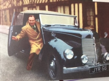 Derek Farr with Armstrong Siddeley