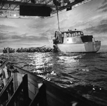 Dunkirk 1958 - Filming In the Studio Tank