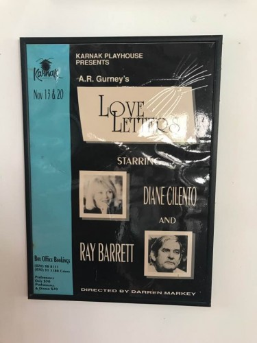 Love Letters - Ray Barret and Diane Cilento at the Karnak Playhouse