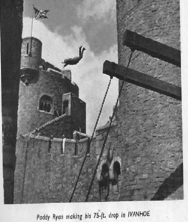 Stunt Dive in Ivanhoe 1952