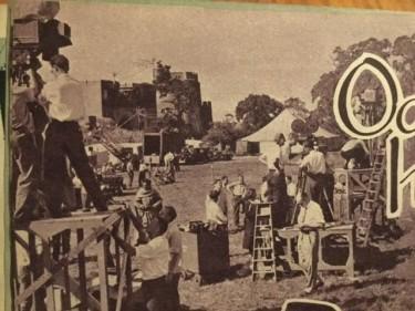 Filming of Ivanhoe