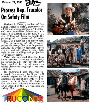 Roy Rogers Trucolor