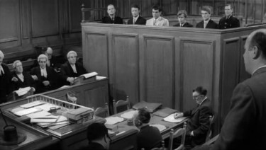 Courtroom Scene The Boys with Robert Morley