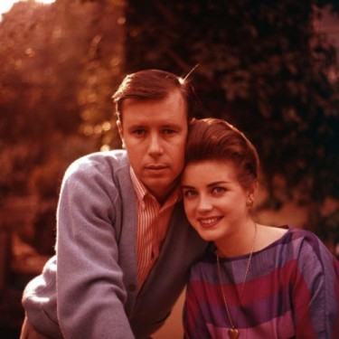 Dolores Hart and Don Robinson