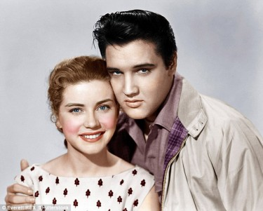 Elvis and Dolores Hart 2