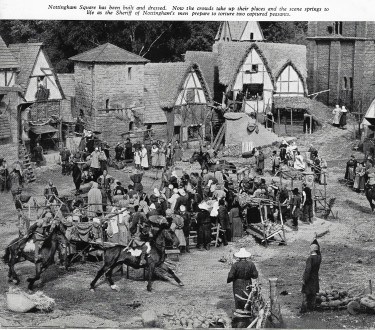 Outdoor Set - Story of Robin Hood 1952