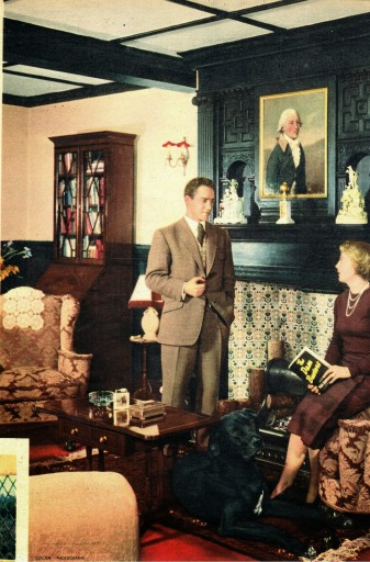 Richard Todd and his Wife - Wayside House