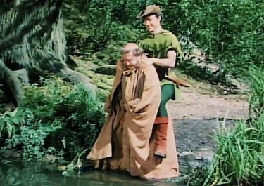 Robin and Friar Tuck