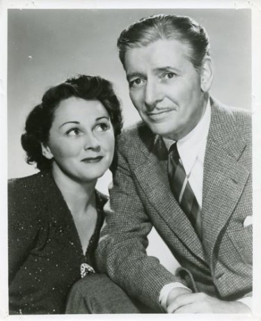 Ronald Colman and his Wife 1954